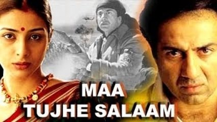 """Maa Tujhe Salaam"" | 2002 | Super Hit Full Movie | Sunny Deol | Tabu"