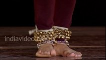 Learn Kathak - Foot steps of  Ladi composition Pali Chandra (English)  Lesson -2