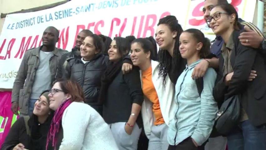 Les Féminines du 93 invitées pour France République Tchèque