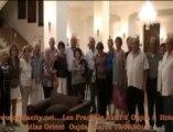 les anciens français d'oujda membres de l'association française  Joie Amitié Maroc « JAM ».