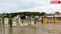 Jumping d'Erquy - Saut d'obstacles sur la plage
