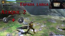 Gran Espada | Guia de armas | Monster Hunter 3 Ultimate | Wii U Español HD