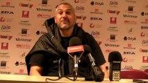 Rugby Top 14 - Christophe Urios réagit après Oyonnax - Stade Français