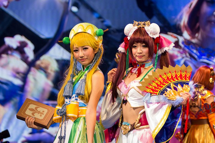 EP Daily & DailyMotion at the 2013 Tokyo Game Show