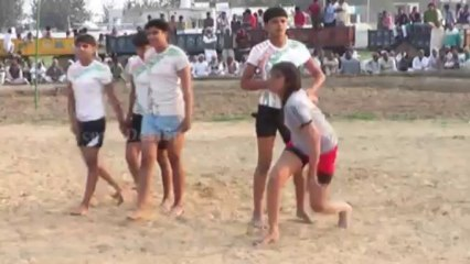 Catcher Best Catch 04 - FreeStyle Girls Kabaddi Tournament 2013 Match 12