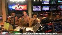 1 million de fans - Cauet fait l'émission nu - C'Cauet sur NRJ
