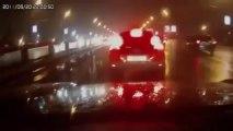 Crash sous la neige : compil' d'accidents de voiture en Hiver!