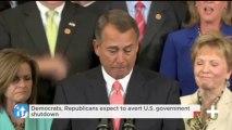 Democrats, Republicans Expect To Avert U.S. Government Shutdown