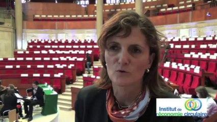 """Patricia Savin """"Ne pas limiter l'économie circulaire à une question de déchet"""""""