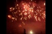 feu d'artifice festival de loire 21 septembre 2013