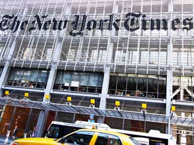 New York Times shares are up 37% this year!
