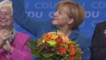 Angela Merkel wins third term in German elections