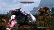Gameplay Videos - The Elder Scrolls V: Skyrim - Dragon Gameplay