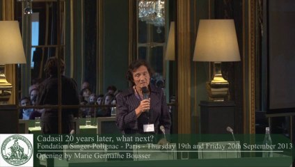 Marie-Germaine Bousser - Opening speech