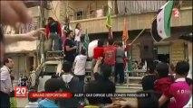 Syrie: Les zones contrôlées par les rebelles