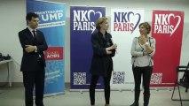 Remise officiel du projet des Trentenaires de l'UMP Paris à N.K.M.