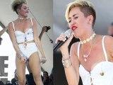 Miley Cyruss Wardrobe Malfunction