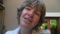 Naucelle : Après la remise de l'ordre National du Mérite à Anne Blanc par Anne-Marie Escoffier, ministre.