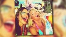 Alessandra Ambrosio and Candice Swanepoel Show Off Their Bikini Bodies in St Tropez