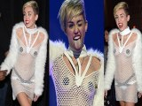 Miley Cyruss Revealing Outfit At iHeartRadio