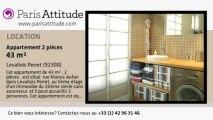 Appartement 1 Chambre à louer - Levallois Perret, Levallois Perret - Ref. 7567
