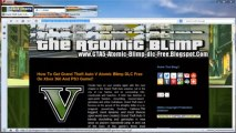 Grand Theft Auto 5 Atomic Blimp DLC Redeem Code Free Xbox 360 / PS3