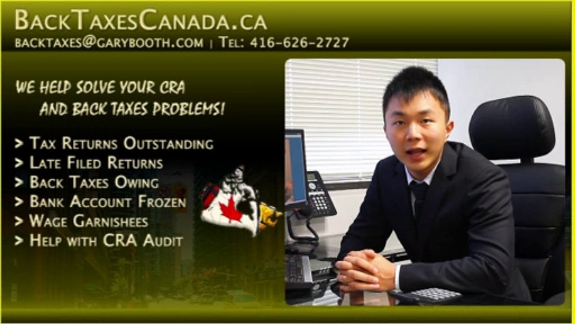 Back Taxes Canada.ca | Negotiate a Payment Plan, Stop bank account freezing + Wage garnishment .