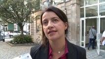 Cécile Duflot présente la loi ALUR au Bureau National du 24 septembre