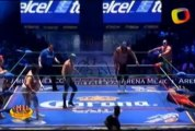 Brazo de Plata, Máximo, Titán vs Euforia, Mephisto, Niebla Roja (CMLL)