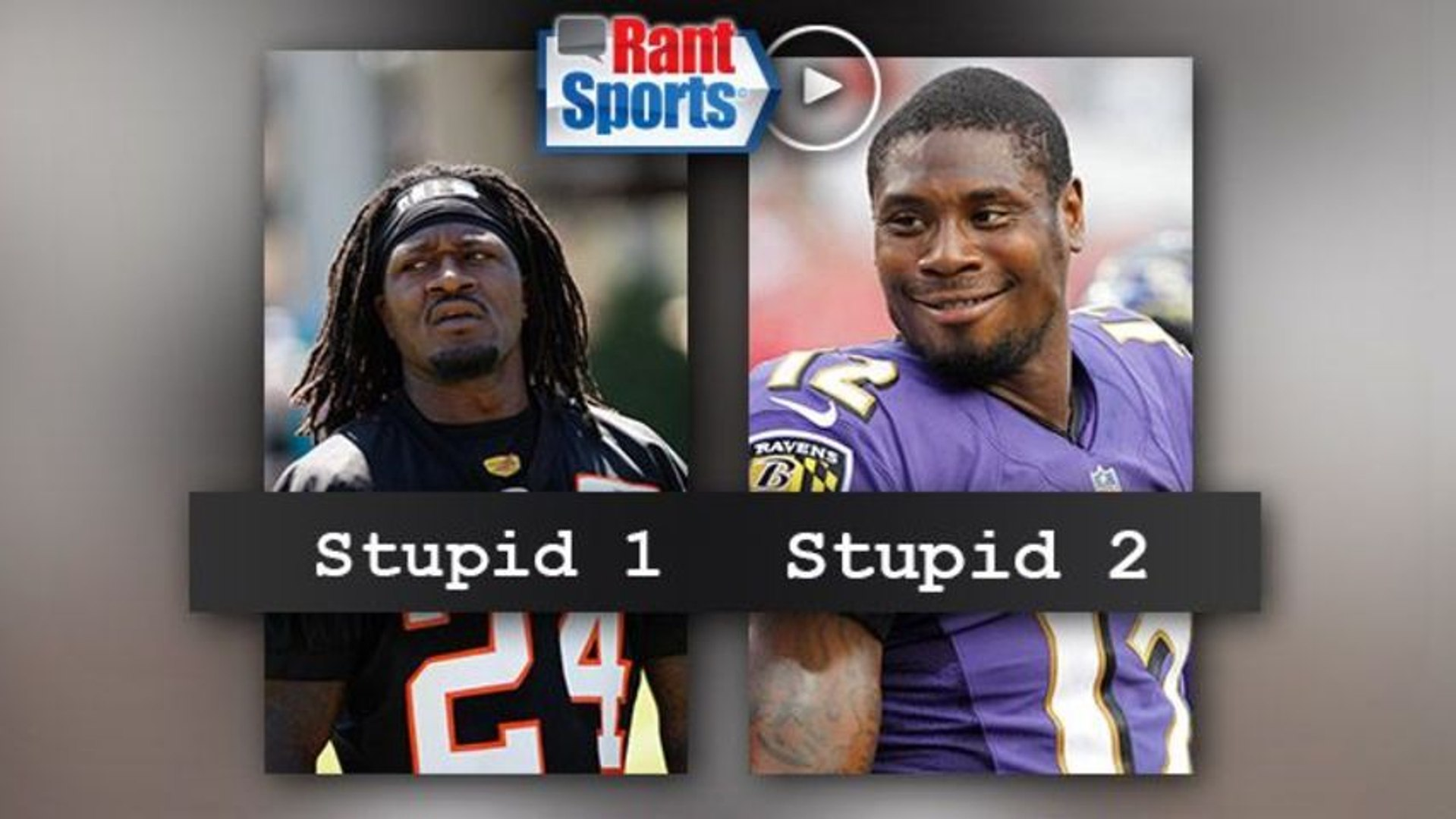 Jacoby Jones, Pacman Jones Show Just How Stupid NFL Players Can Be
