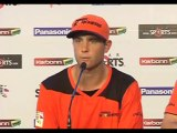Perth Scorchers wicketkeeper TomTriffitt press conference