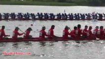 Traditional Thai culture of Thailand, King's Cup 2013 Long Tail Boat Racing