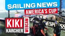 Analyse Race 17 & 18 : Oracle revient à égalité 8-8 | America's Cup | Kiki Karcher's Webcam