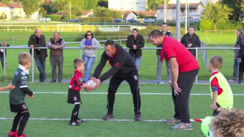 Intervention école de rugby