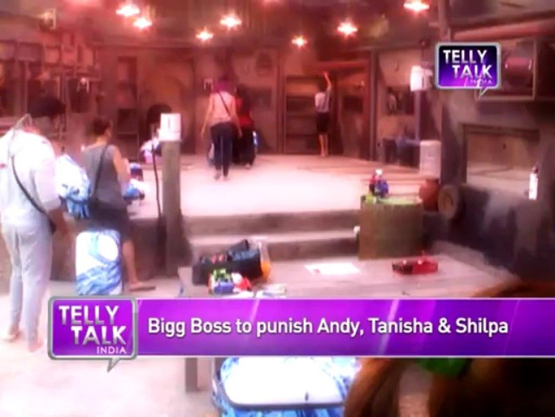 Bigg Boss 7 : Bigg Boss PUNISHES Tanisha, Andy, Shilpa Bigg Boss 7 Day 10 | 25th September 2013