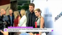 Liam Hemsworth Walks First Red Carpet After Miley Cyrus Breakup