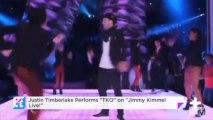 "Justin Timberlake Performs ""TKO"" On ""Jimmy Kimmel Live!"""