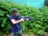 Airsoft M4A1 with M203 Grenade Launcher