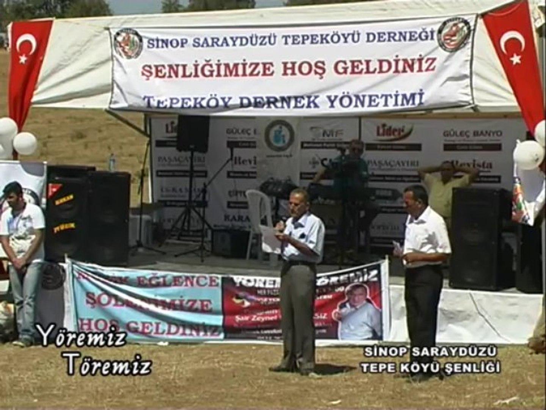 Yöremiz Töremiz - Sinop Saraydüzü Tepe Köyü Şenliği 2.Bölüm