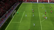 FIFA 14 Gameplay - Manchester United vs Manchester City