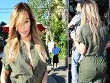Kim Kardashian Flaunts Assets