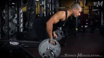 Rowing Barre - Exercice de Musculation Dos