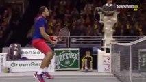 ATP METZ OPEN 2013 - Jo Wilfried Tsonga Vs Edouard Roger Vasselin - Meilleurs moments