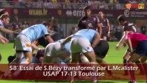 USAP vs Stade Toulousain : Le résumé