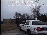 Police run over fugitive   Cops Cars and Crashes