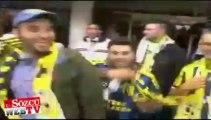 Almanya'daki taraftarlar Fenerbahçe'ye sahip çıktı