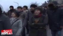ODTÜ'de Erdoğan gerginliği: Öğrenciler barikat kurdu