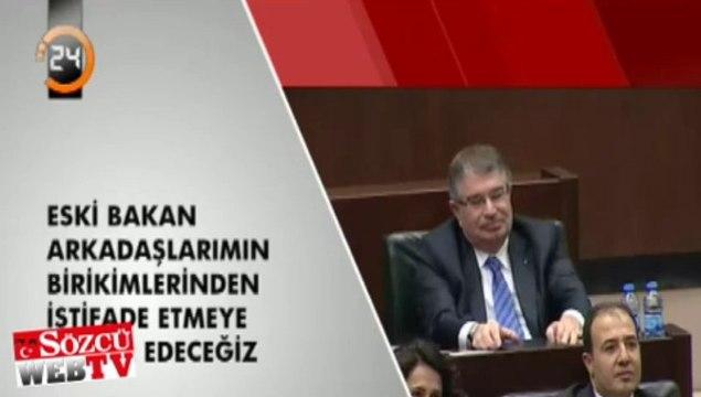 İdris Naim Şahin Erdoğan'ı böyle dinledi