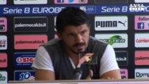 Gattuso da' il suo addio al Palermo