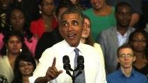 """Obama ridicules """"desperate"""" GOP arguments against Obamacare"""